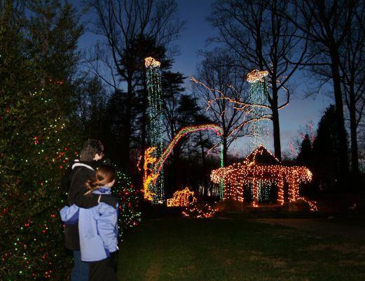 - Brookside Gardens Of Lights: 2017 Christmas Display