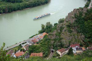 Danube River cruises take visitors through the scenic Wachau Valley in Austria