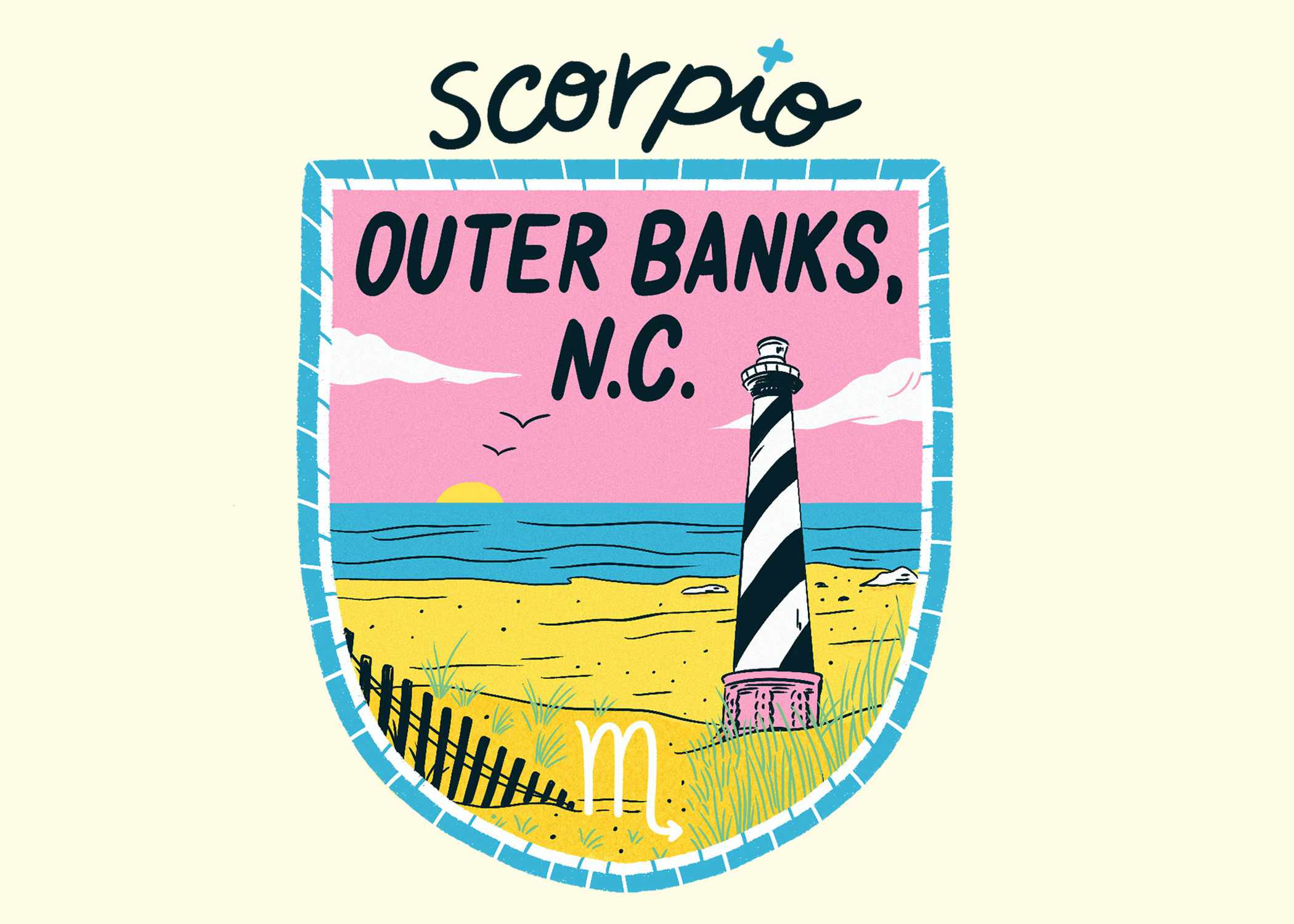 An illustration of the Outer Banks for Scorpio