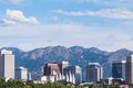 Salt Lake City Skyline Panorama