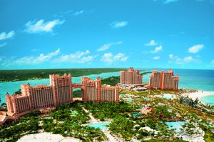 Atlantis Resort, Paradise Island, Bahamas, including the Cove and Reef towers