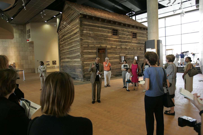 National Underground Railroad Freedom Center, slave pen, Cincinnati