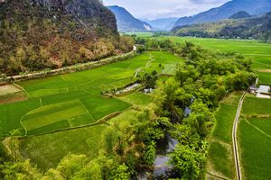 Mai Chau ricefields, Vietnam