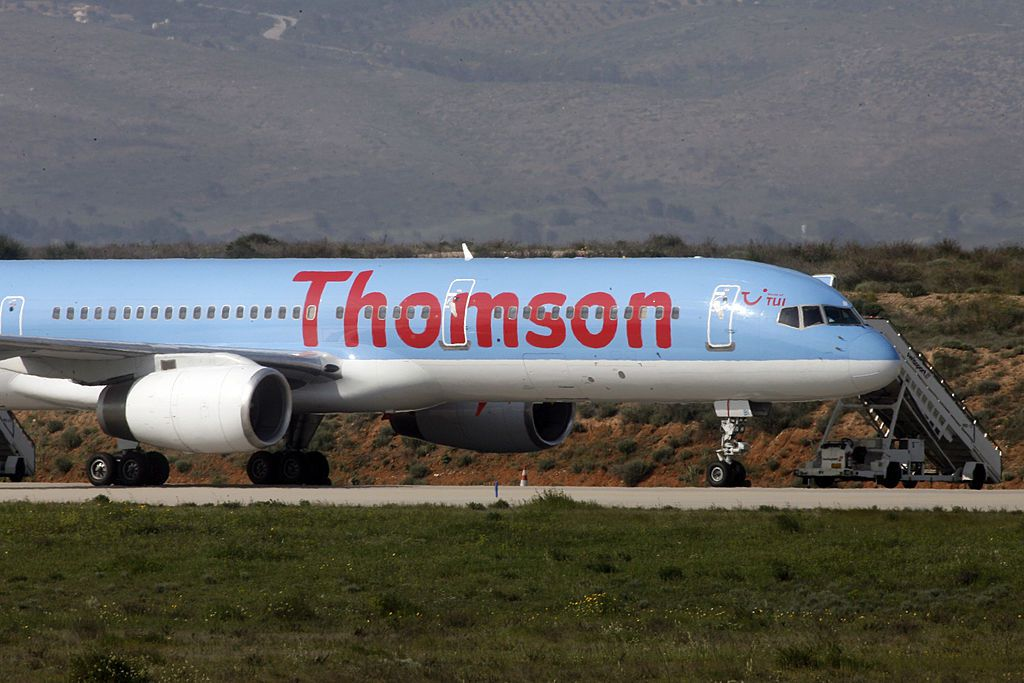 Thomson Airways aircraft