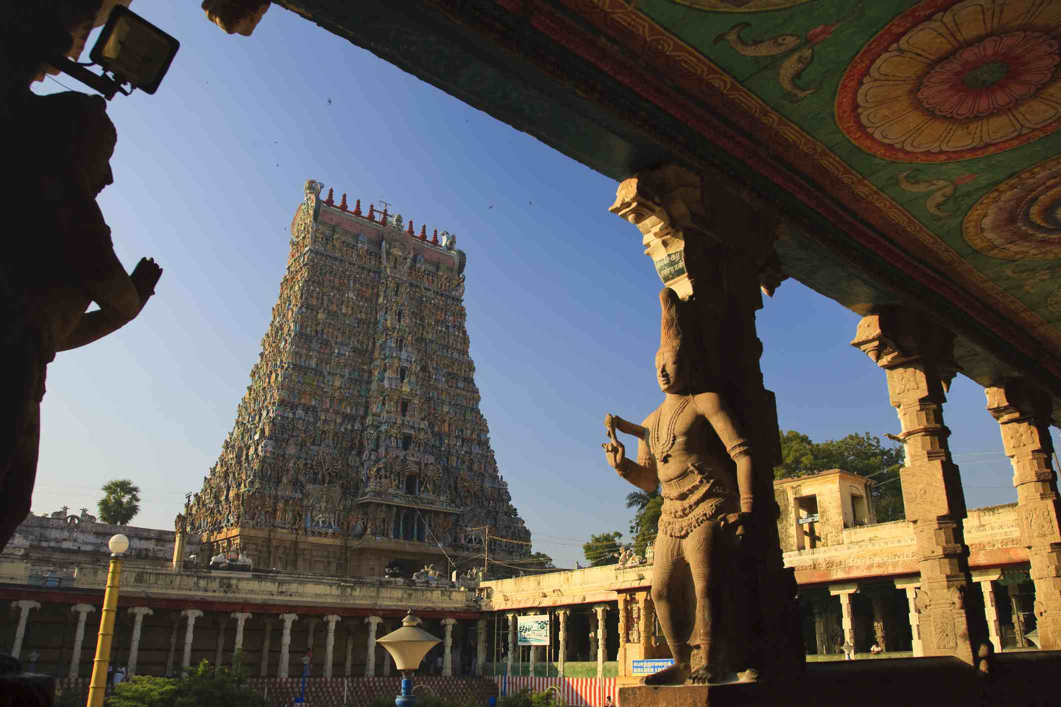 Meenakshi temple, Madurai.