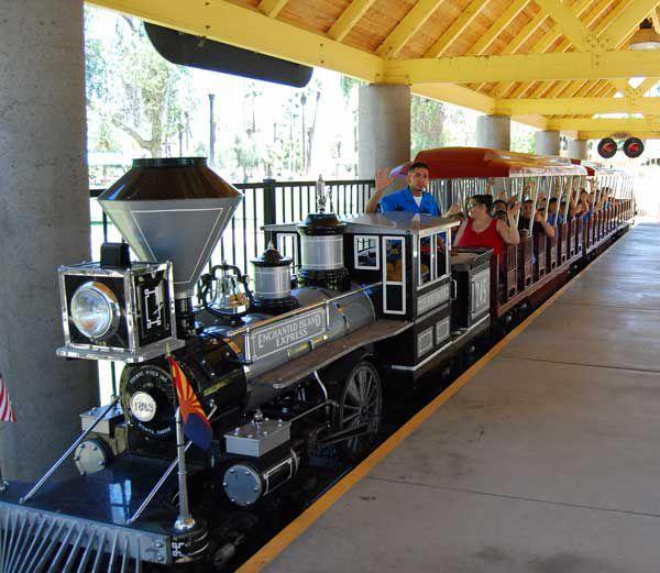 Winter Wonderland Express train