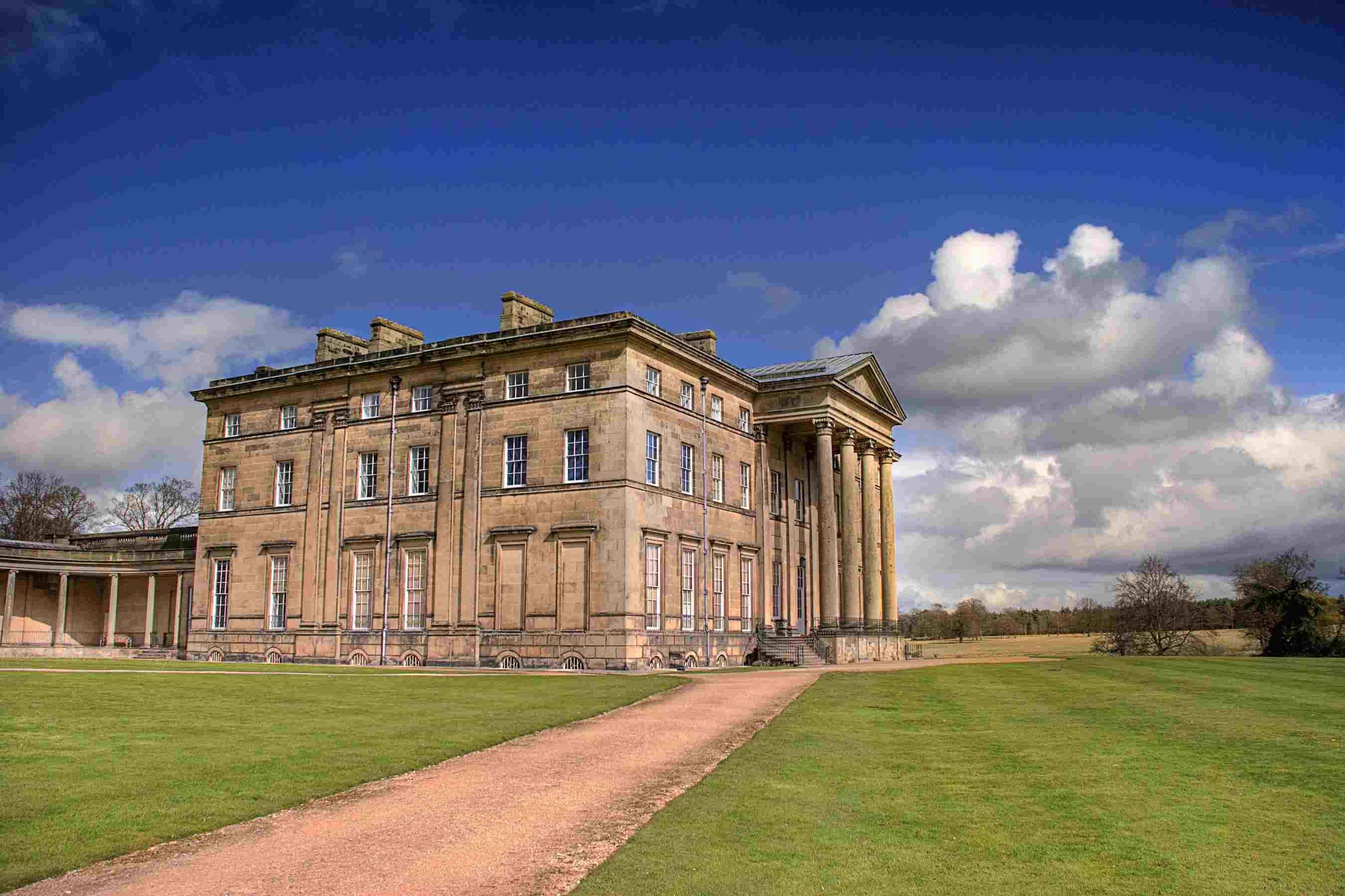 Attingham Park Mansion, Shrewsbury, UK