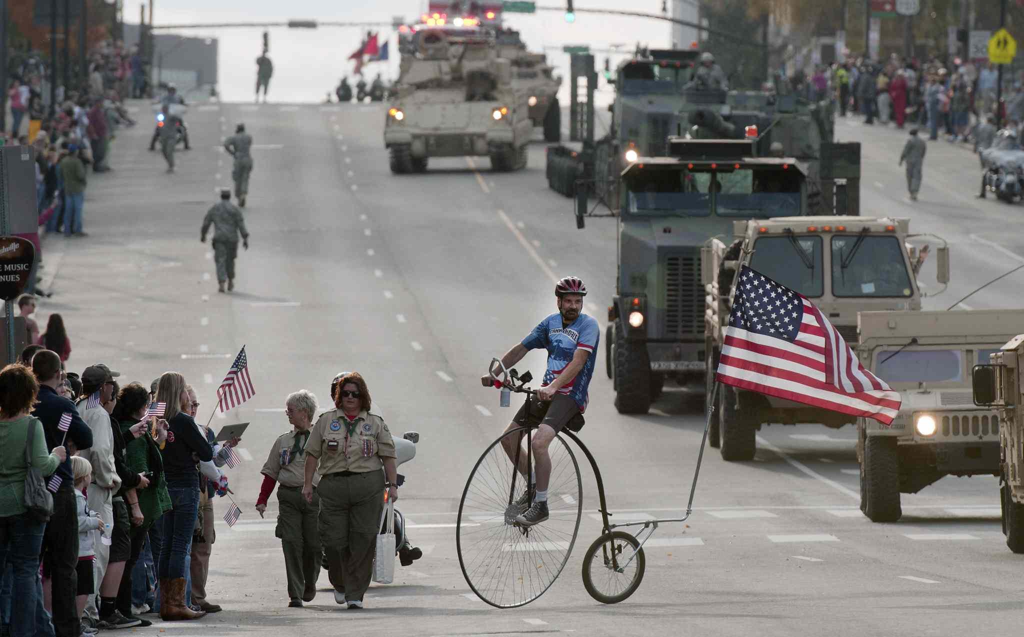 Veterans Day Parade in Nashville