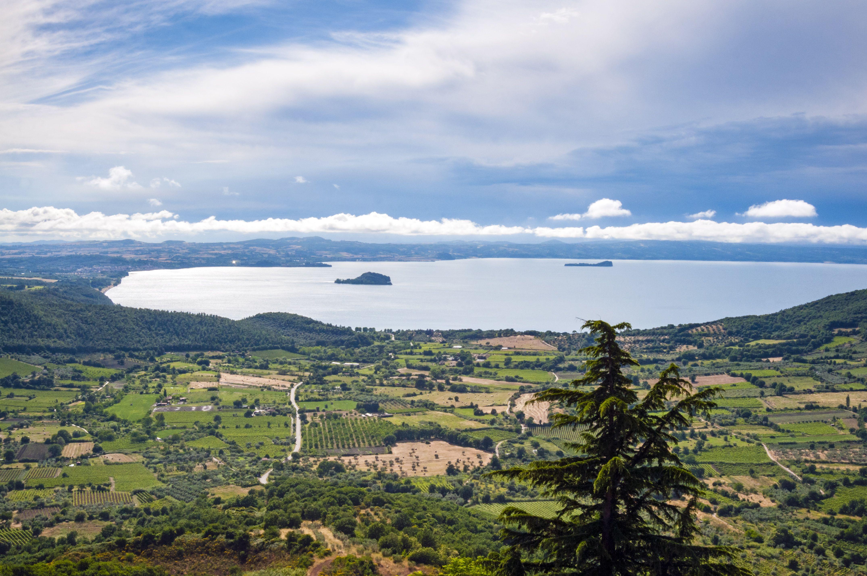 Lake Bolsena, Latium, Italy