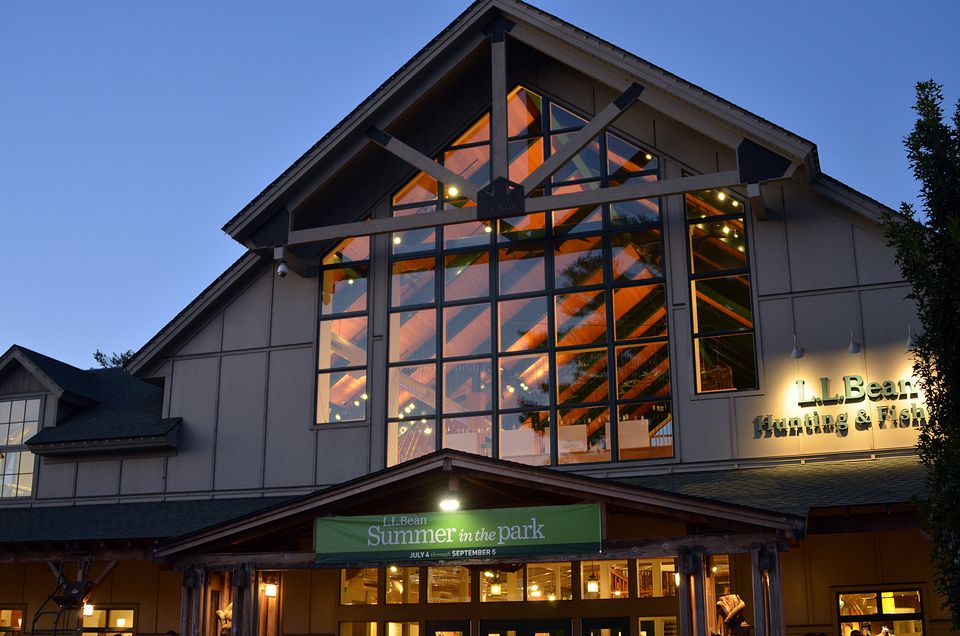 06572aa394 LL Bean Freeport Maine Flagship and Outlet Stores