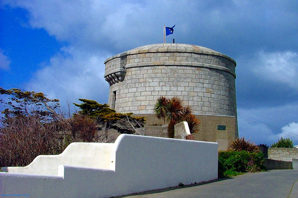 The James Joyce Tower at Sandycove.