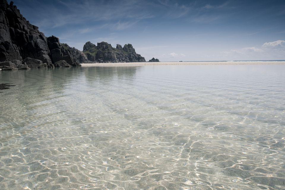 Pednevounder Beach South Cornwall