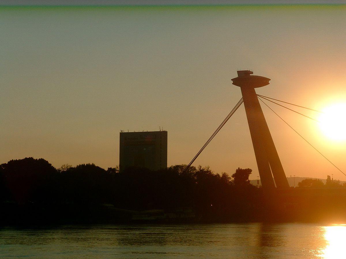 Bridge Over the Danube in Bratislava