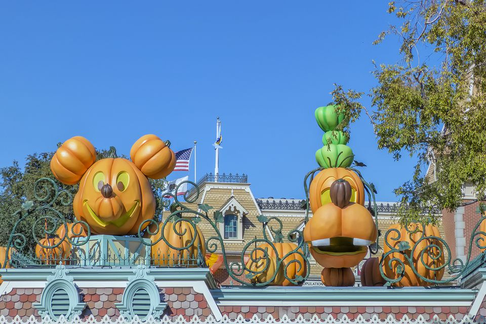 Halloween Decorations at Disneyland