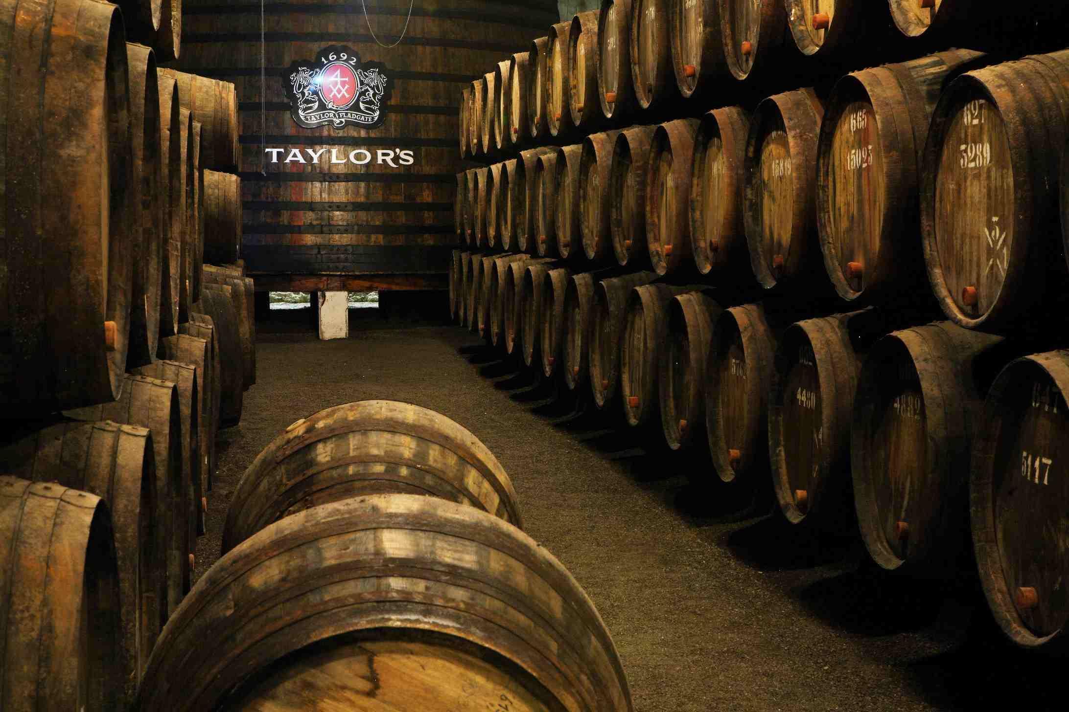 Taylor's Port Wine Cellar