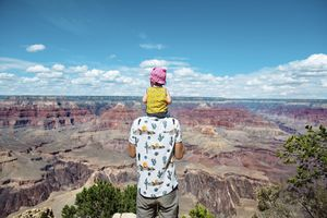 Visitors at the Grand Canyon
