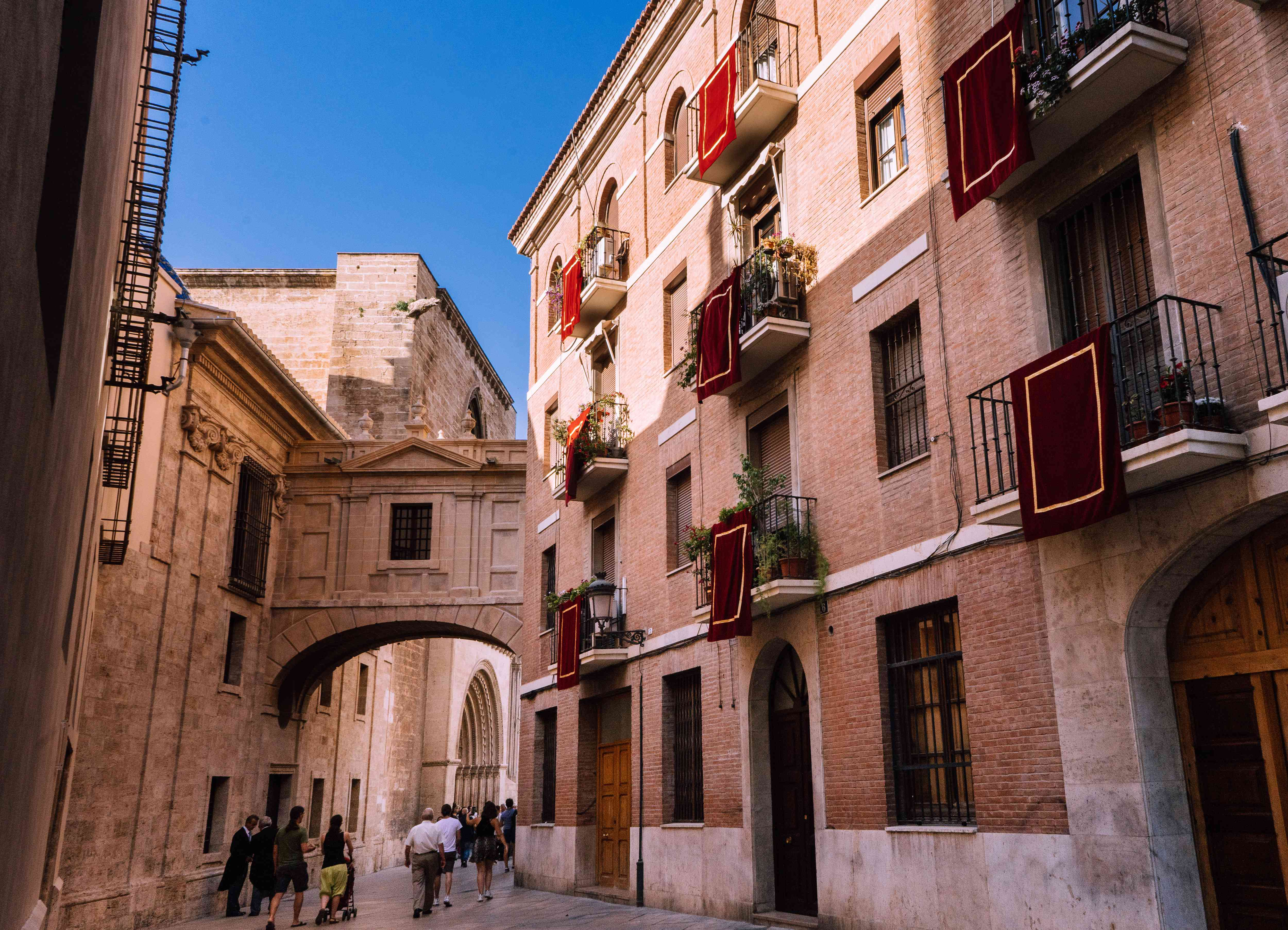 Old town of Valencia