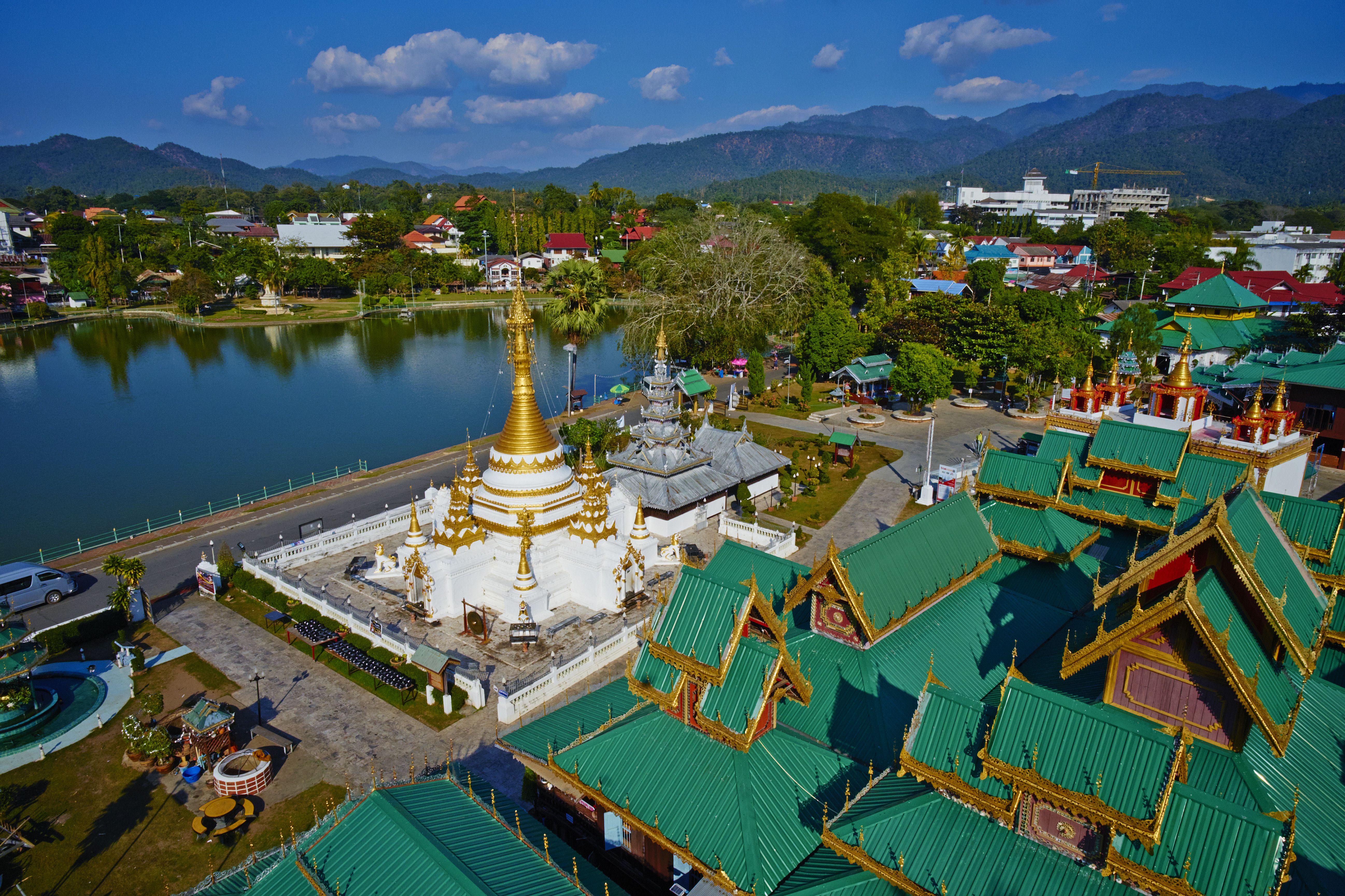 Mae Hong Son en el norte de Tailandia