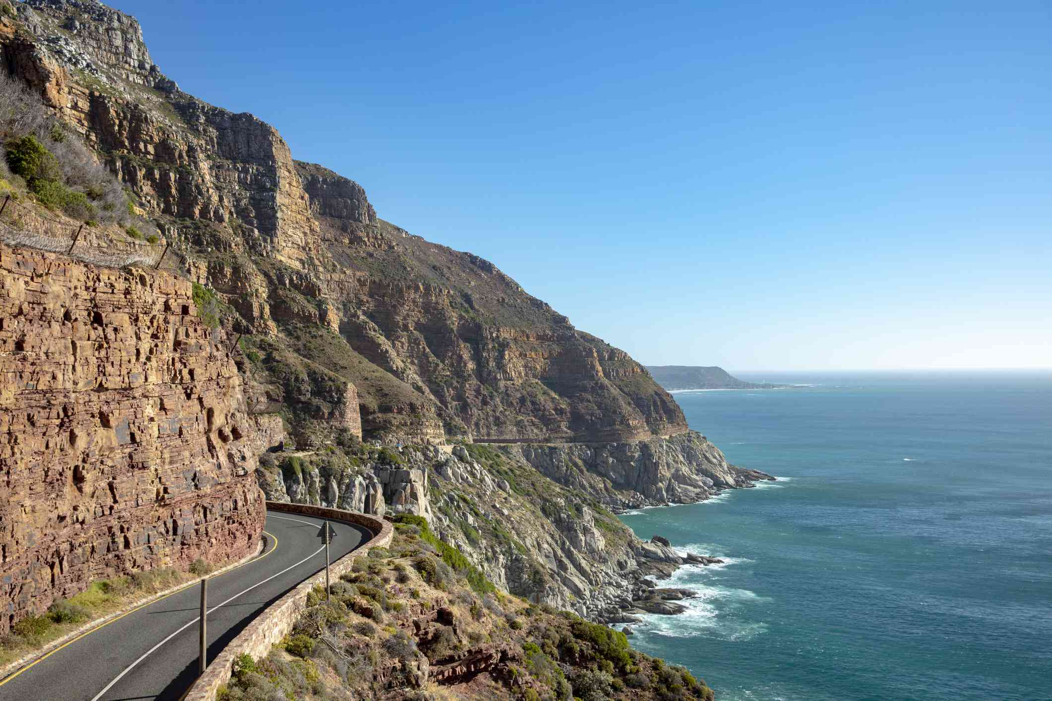 Chapman's Peak Drive in Cape Town, South Africa