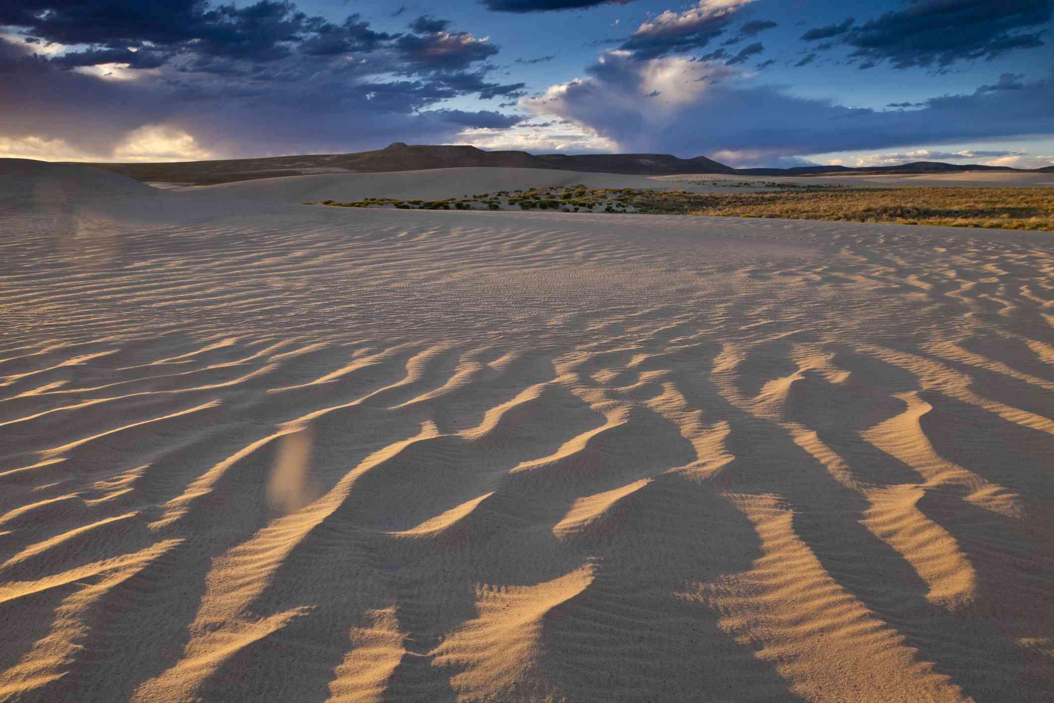 Killpecker Dunes in Wyomings Red Desert