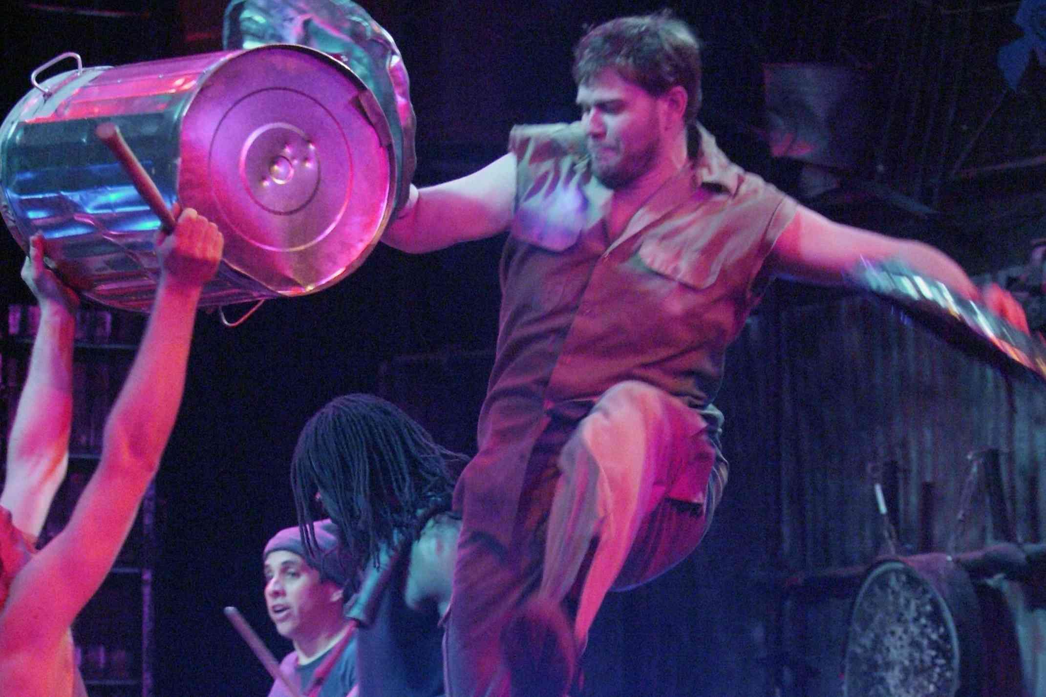 Stomp performance in Detroit