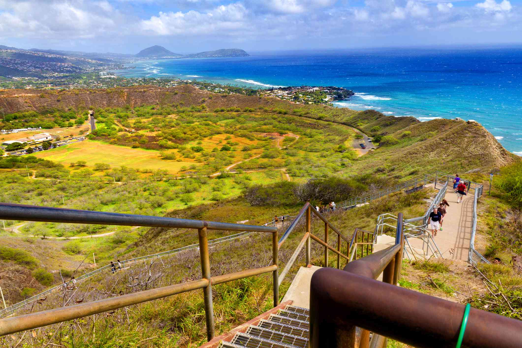 Diamond Head hike in Waikiki