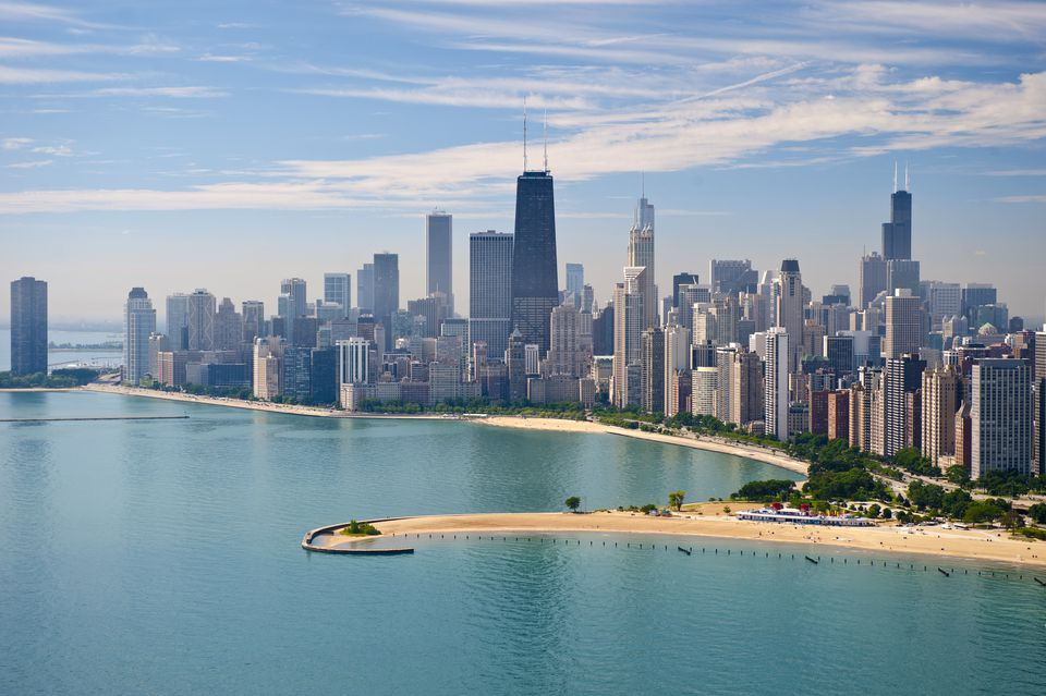 A skyline view of Chicago's lakefront