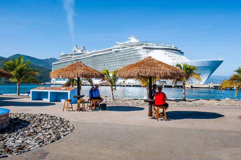 Allure of the Seas in Haiti