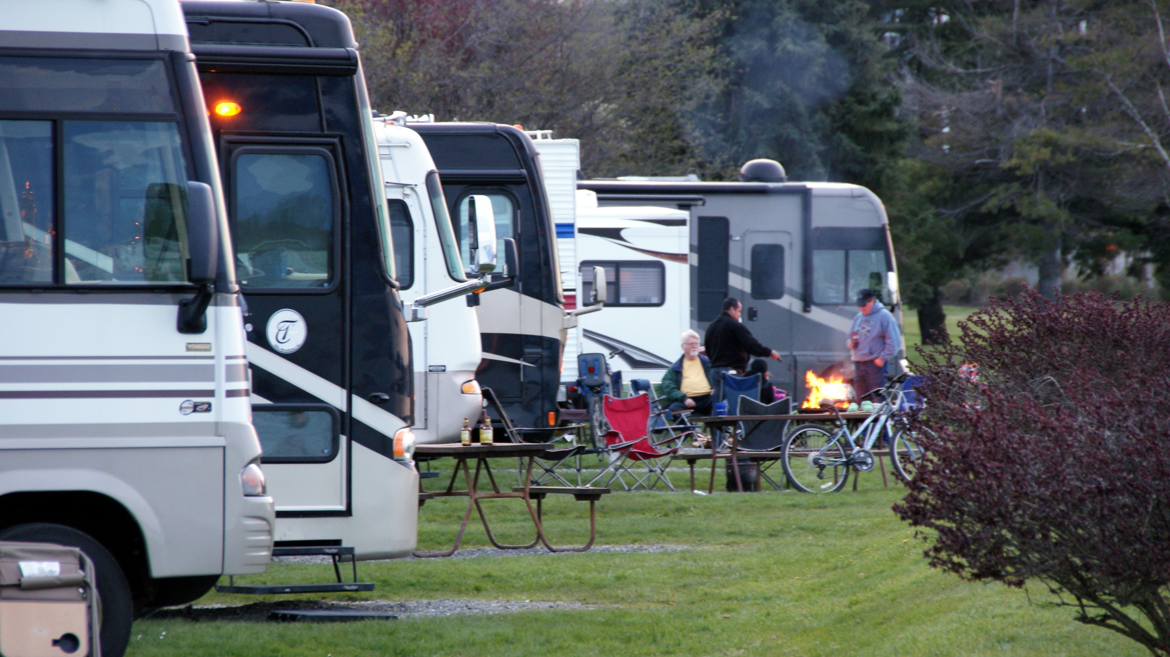 RV park camp out