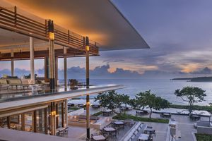 A view of Amanera Resort in the Dominican Republic