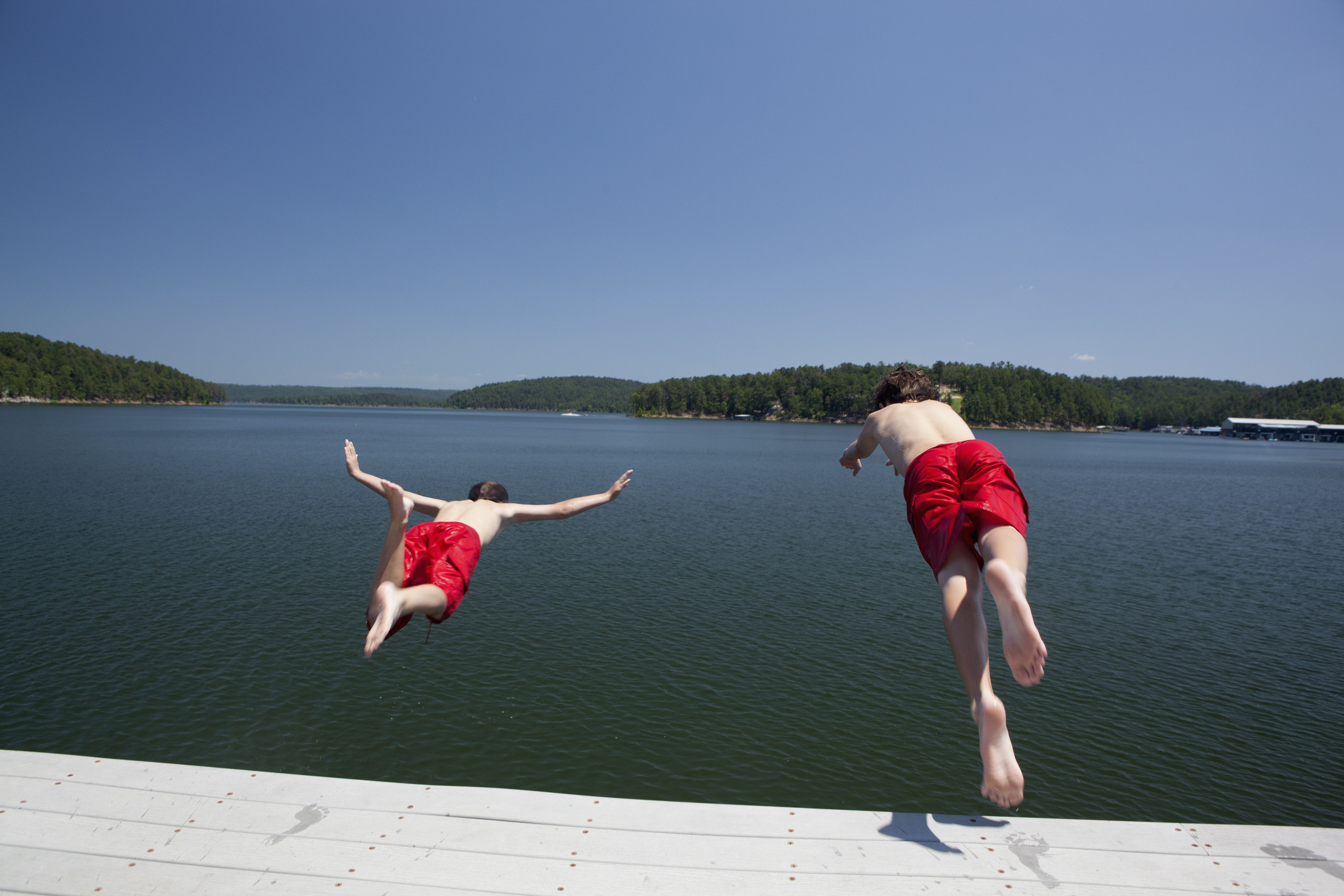 Best Lakes for Swimming in Central Arkansas
