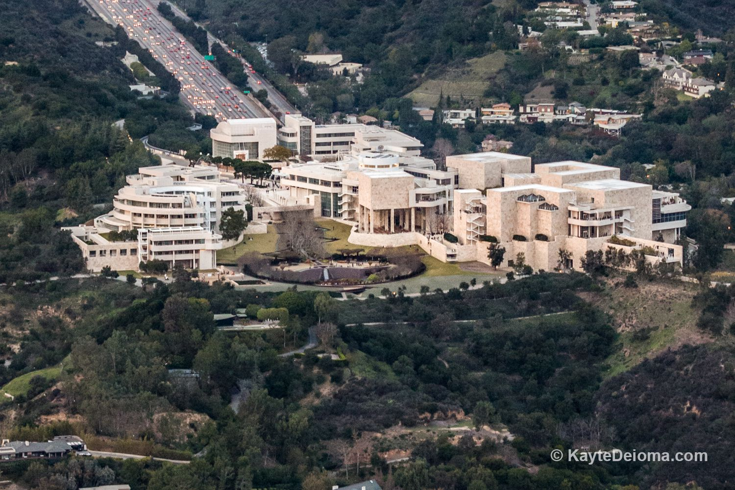 Getty Centre Architecture Tour