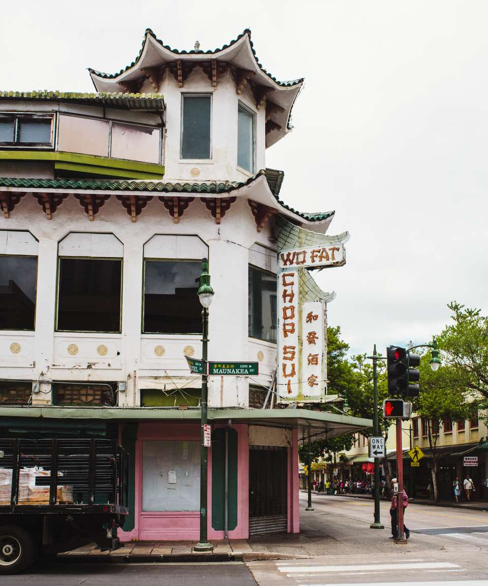 Wo Fat Building in Honolulu's Chinatown