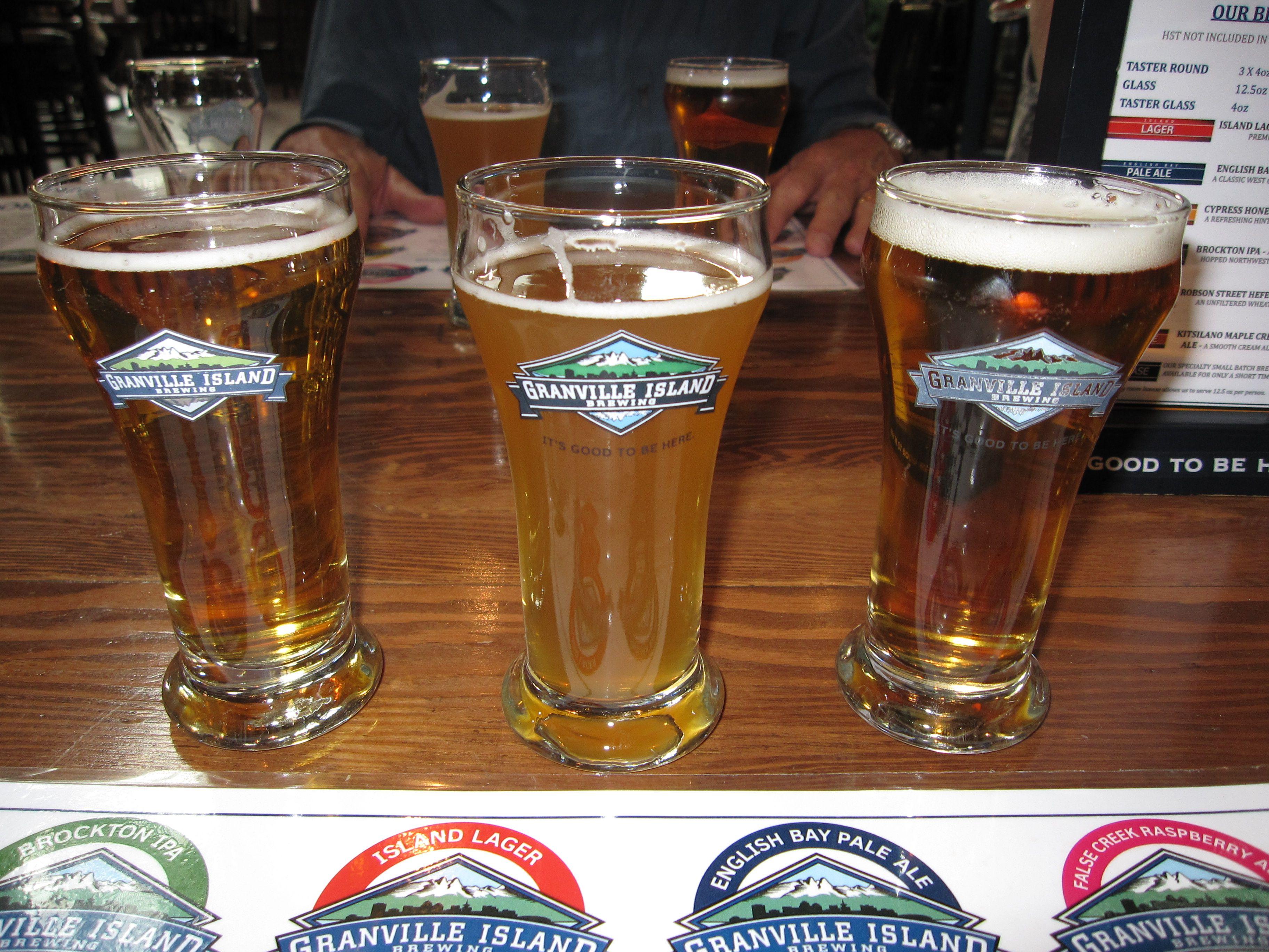 Granville Island Tour Beer