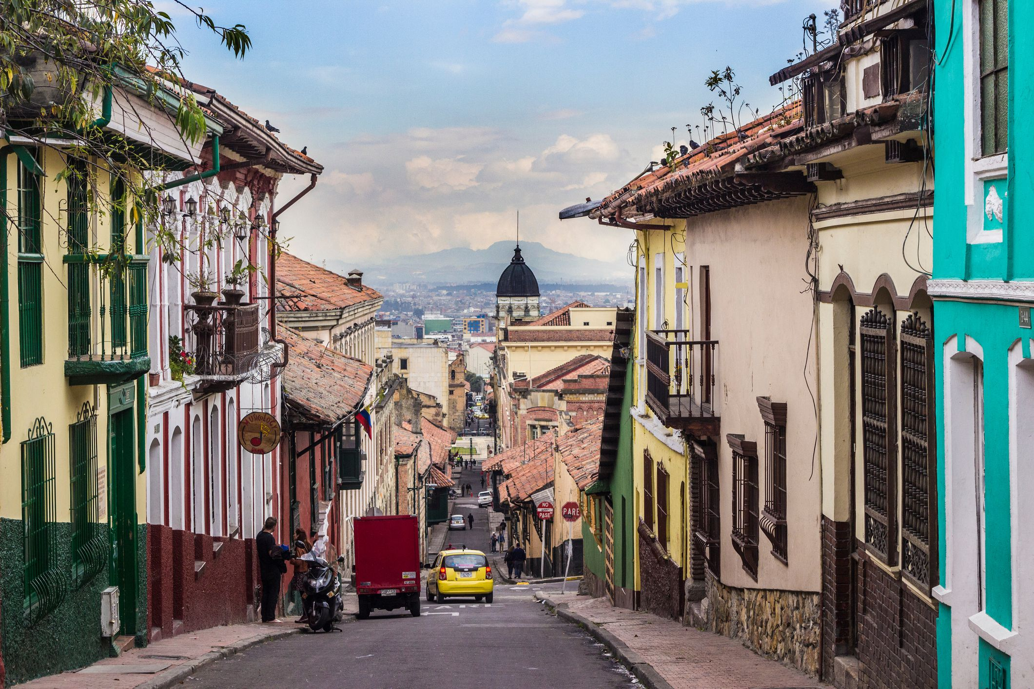 street view of Bogota, colombia