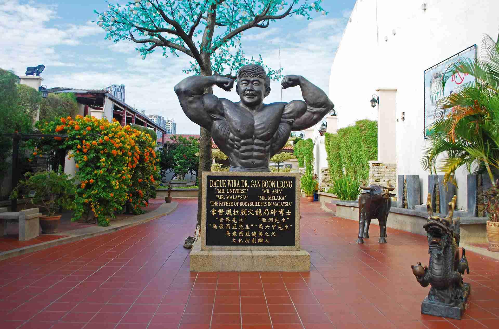Gan Boon Leong Statue