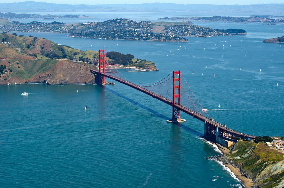Golden Gate Bridge Rivets