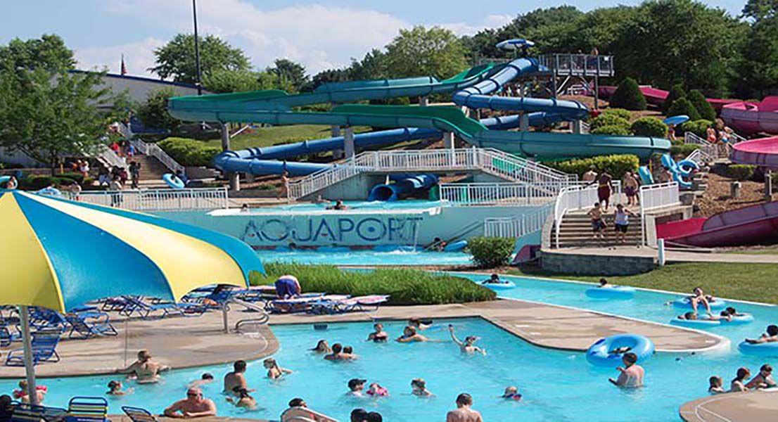 Aquaport water park in Missouri