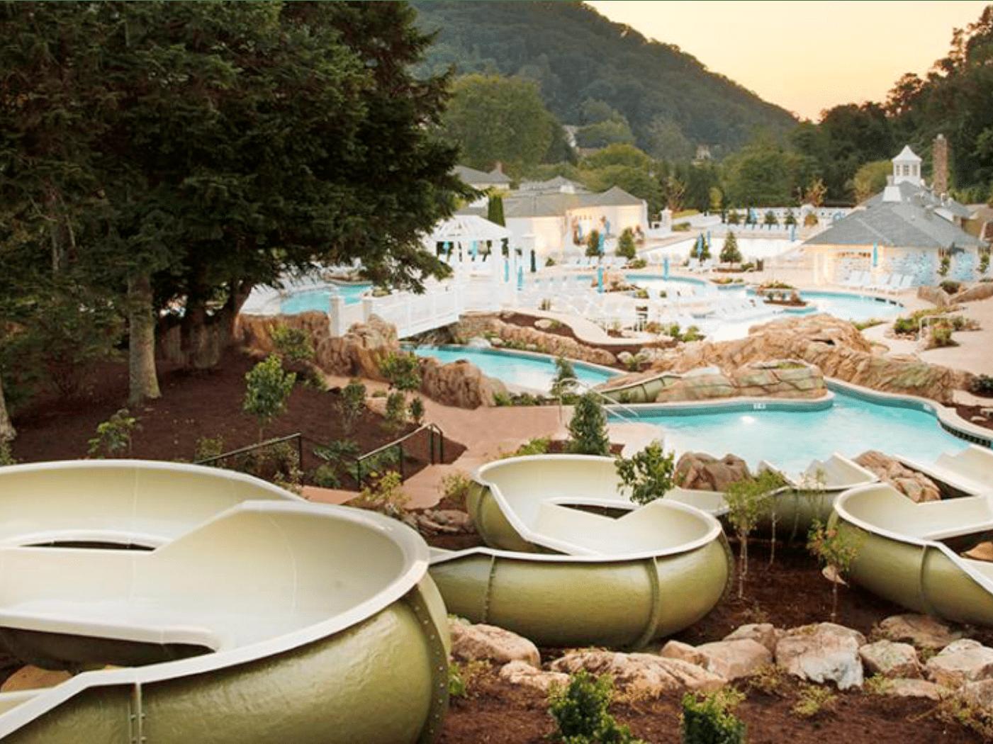 Omni Homestead Resort pool