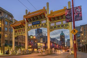 The Millenium Chinatown Gate, Vancouver
