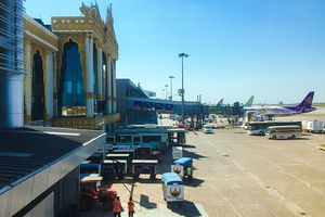 Yangon International Airport exterior