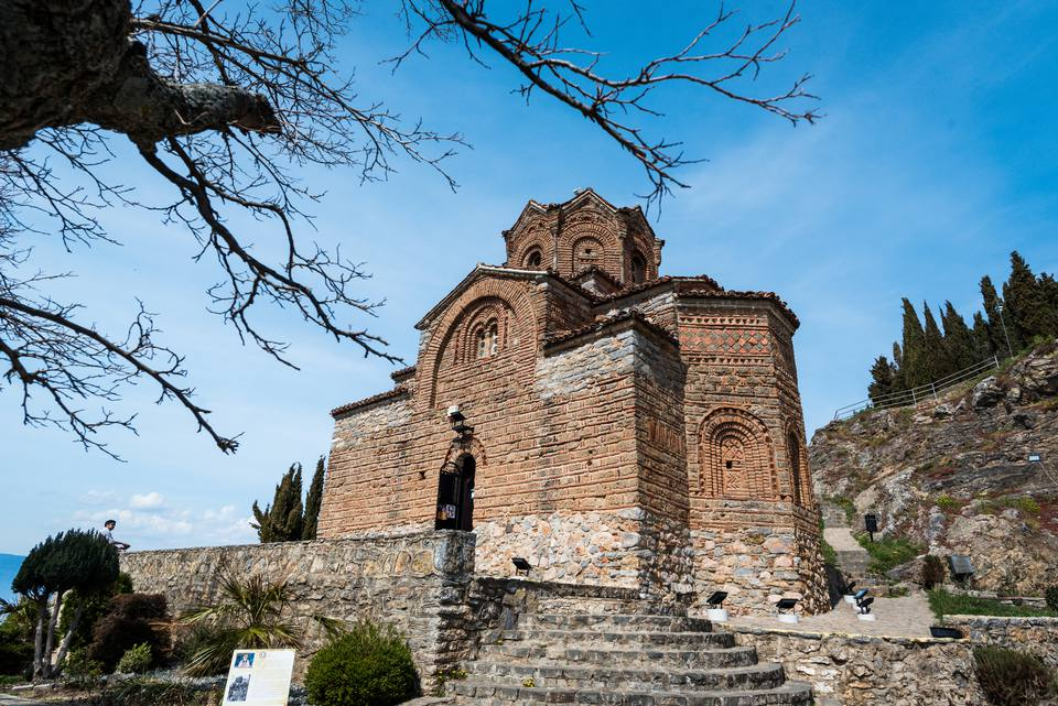 Church of St Johan in Macedonia