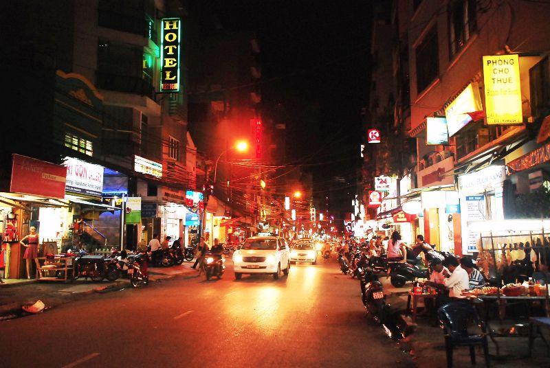 Pham Ngu Lao, Saigon, Vietnam