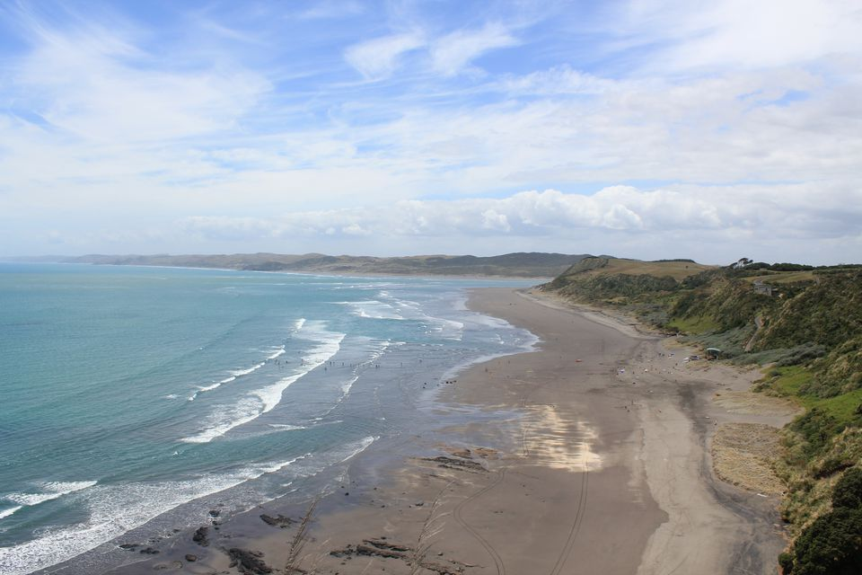 New Zealand beach, Raglan