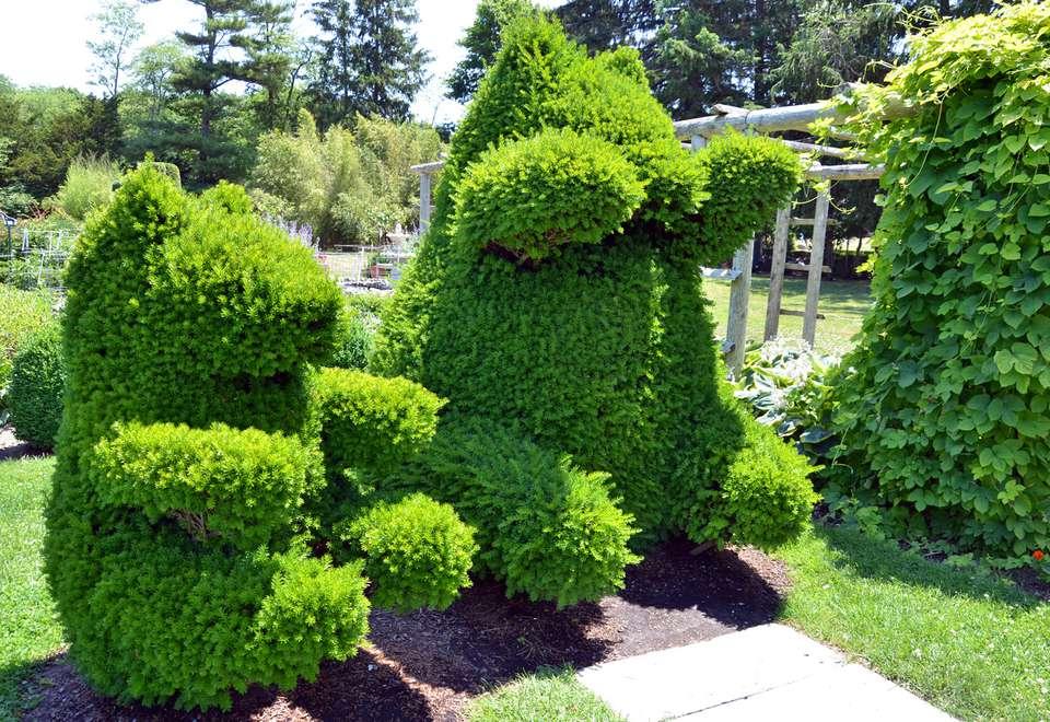 green animals topiary bears - Green Animals Topiary Garden
