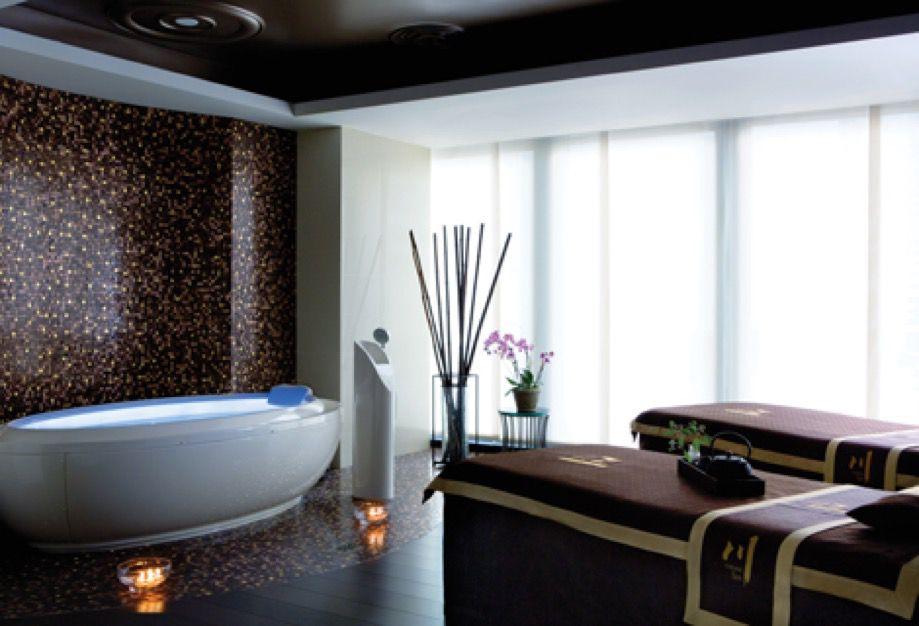 Treatment room at Chuan Spa