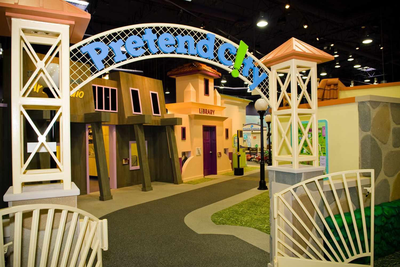 Museo de niños de la ciudad de simulación