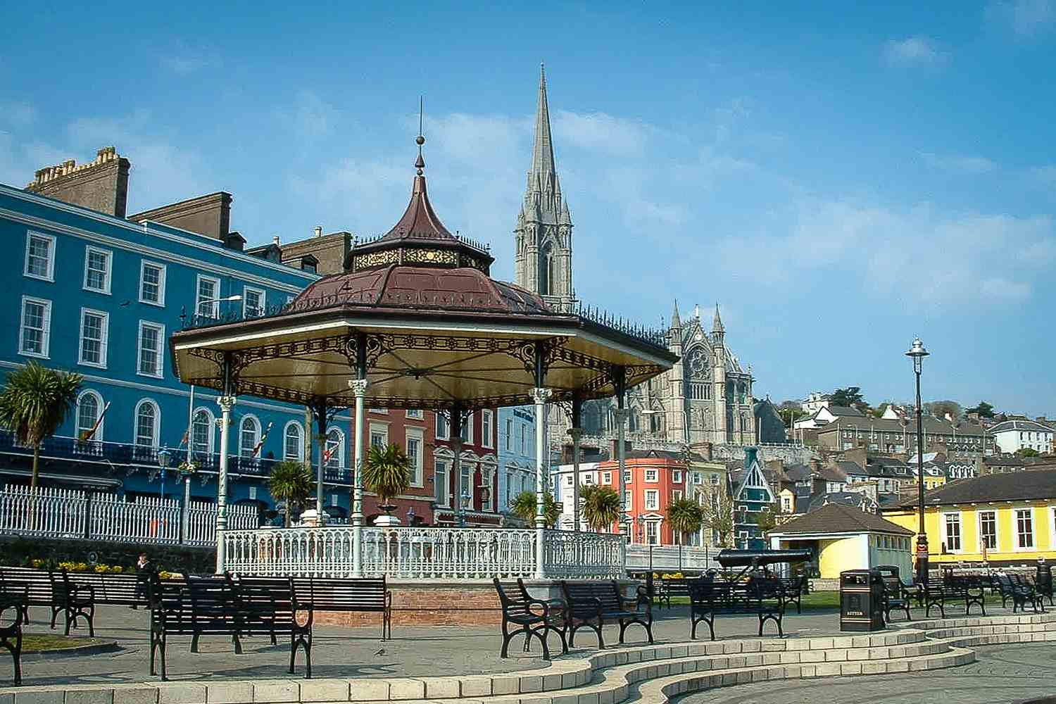 seafront at Cobh