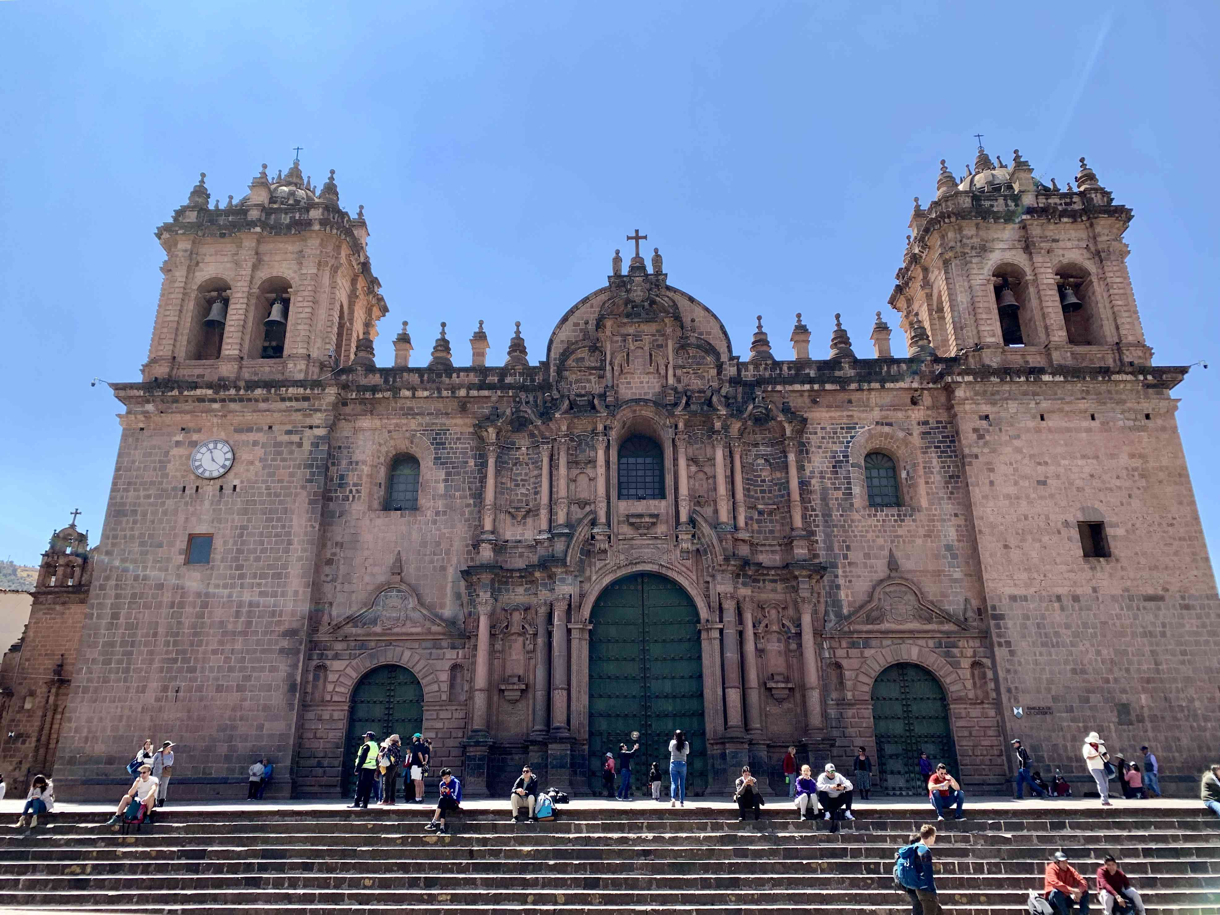 Cusco is located at over 11,000 feet.