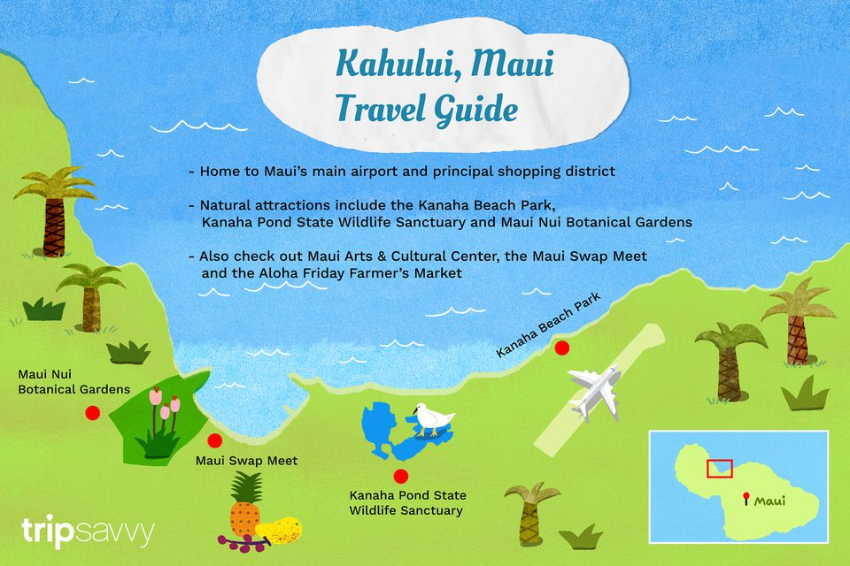 Guía de viaje de Kahului, Maui